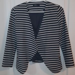 BERSHKA striped blazer